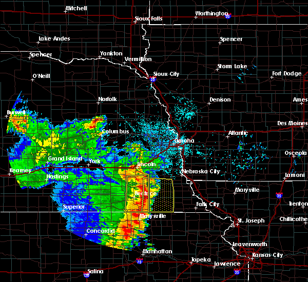 Radar Image for Severe Thunderstorms near Cook, NE at 6/28/2020 3:30 AM CDT