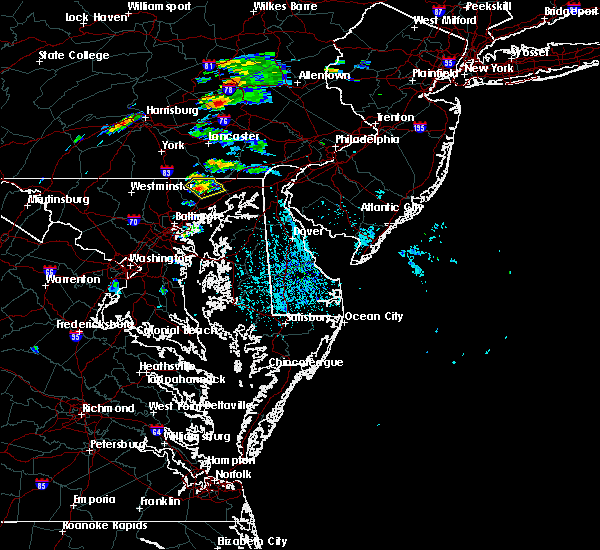 Radar Image for Severe Thunderstorms near Bel Air, MD at 6/30/2015 1:00 PM EDT