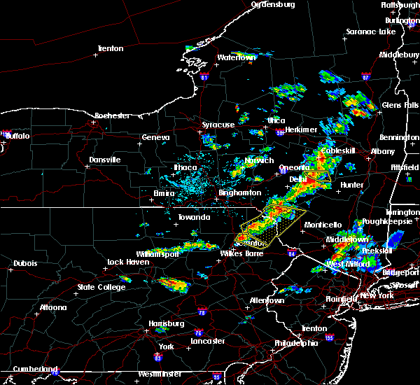 Radar Image for Severe Thunderstorms near Carbondale, PA at 6/28/2020 2:38 PM EDT