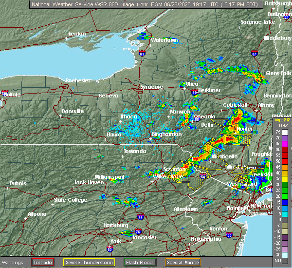 Radar Image for Severe Thunderstorms near Wind Gap, PA at 6/28/2020 3:23 PM EDT