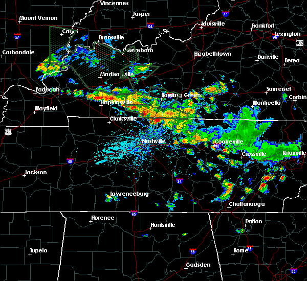 Radar Image for Severe Thunderstorms near Portland, TN at 6/28/2020 3:19 PM CDT