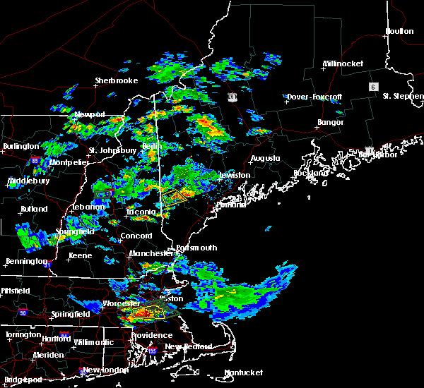 Radar Image for Severe Thunderstorms near Steep Falls, ME at 6/28/2020 4:40 PM EDT