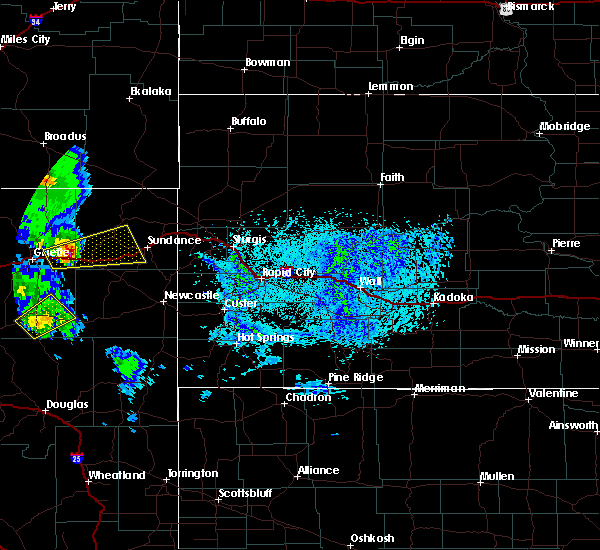 Radar Image for Severe Thunderstorms near Pine Haven, WY at 6/28/2020 3:12 PM MDT