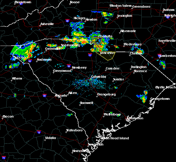Radar Image for Severe Thunderstorms near Mineral Springs, NC at 6/28/2020 5:15 PM EDT