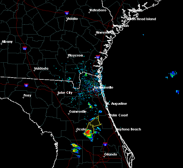 Radar Image for Severe Thunderstorms near Seville, FL at 6/28/2020 5:38 PM EDT