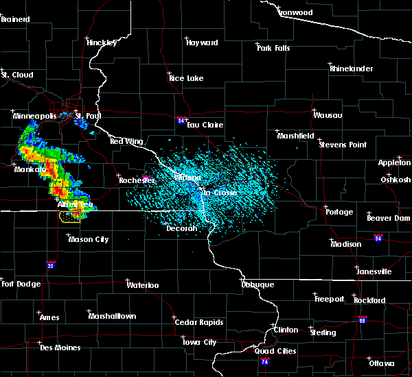 Radar Image for Severe Thunderstorms near Taopi, MN at 6/28/2020 4:52 PM CDT