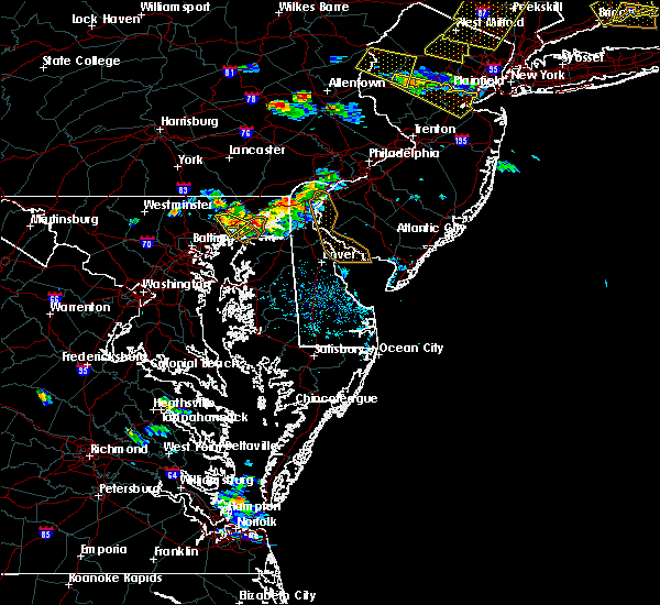 Radar Image for Severe Thunderstorms near Aberdeen, MD at 6/28/2020 6:01 PM EDT