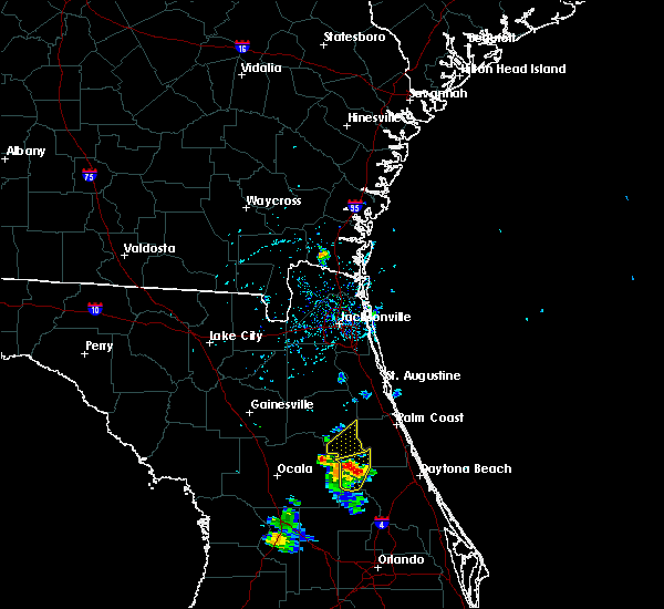 Radar Image for Severe Thunderstorms near Seville, FL at 6/28/2020 6:05 PM EDT