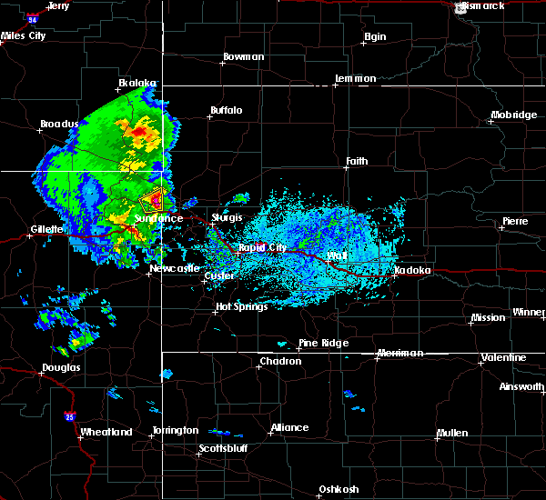 Radar Image for Severe Thunderstorms near Fruitdale, SD at 6/28/2020 4:43 PM MDT