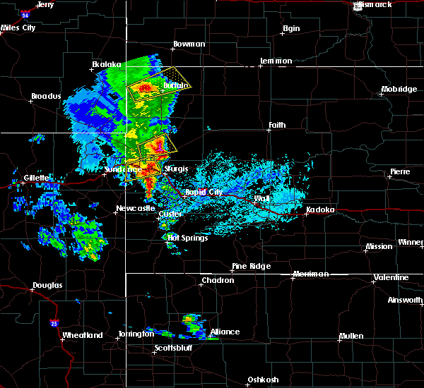 Radar Image for Severe Thunderstorms near Blackhawk, SD at 6/28/2020 5:29 PM MDT