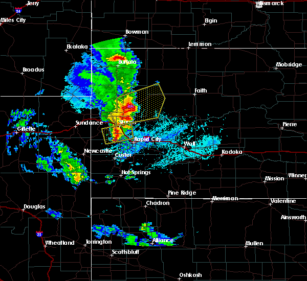 Radar Image for Severe Thunderstorms near Blackhawk, SD at 6/28/2020 5:51 PM MDT