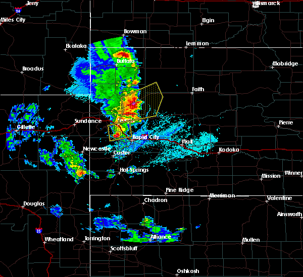 Radar Image for Severe Thunderstorms near Blackhawk, SD at 6/28/2020 6:02 PM MDT