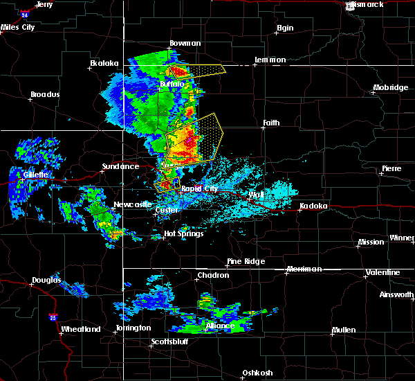 Radar Image for Severe Thunderstorms near Blackhawk, SD at 6/28/2020 6:12 PM MDT