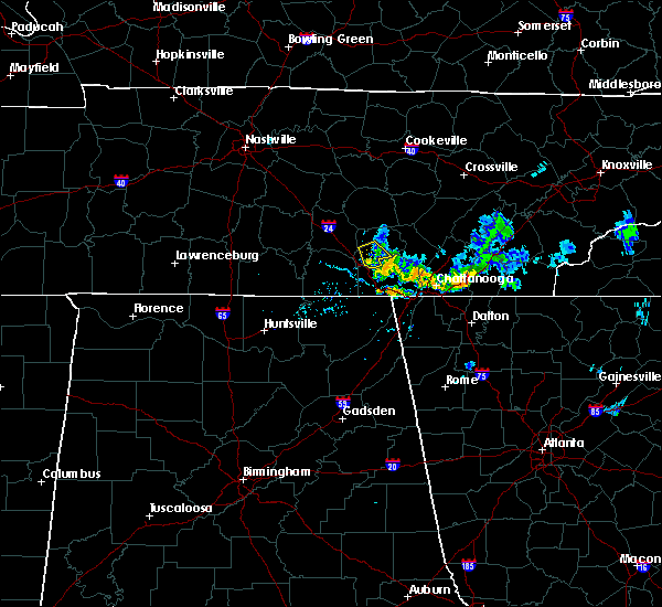 Radar Image for Severe Thunderstorms near Chattanooga, TN at 6/28/2020 8:20 PM EDT