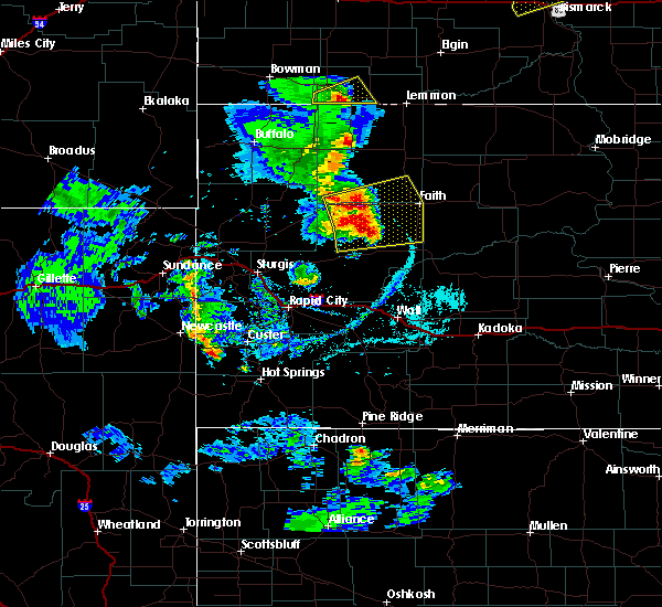Radar Image for Severe Thunderstorms near Custer, SD at 6/28/2020 6:53 PM MDT