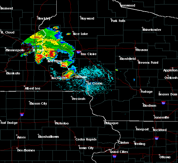 Radar Image for Severe Thunderstorms near Minnesota City, MN at 6/28/2020 7:55 PM CDT
