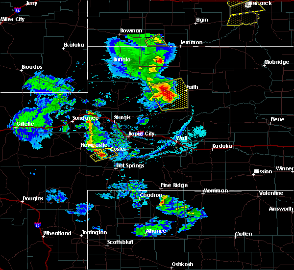 Radar Image for Severe Thunderstorms near Custer, SD at 6/28/2020 7:06 PM MDT