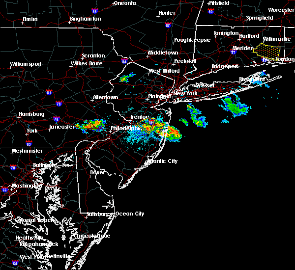 Radar Image for Severe Thunderstorms near Allentown, NJ at 6/28/2020 9:08 PM EDT