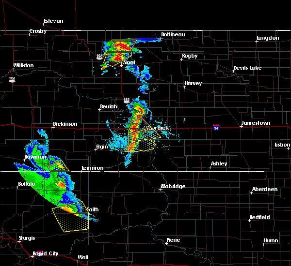 Radar Image for Severe Thunderstorms near Lincoln, ND at 6/28/2020 8:12 PM CDT