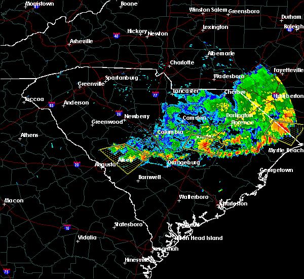 Radar Image for Severe Thunderstorms near Livingston, SC at 6/28/2020 9:21 PM EDT