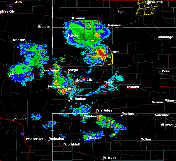 Radar Image for Severe Thunderstorms near Hill City, SD at 6/28/2020 7:21 PM MDT