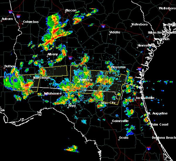 Radar Image for Severe Thunderstorms near Madison, FL at 6/30/2015 1:36 PM EDT