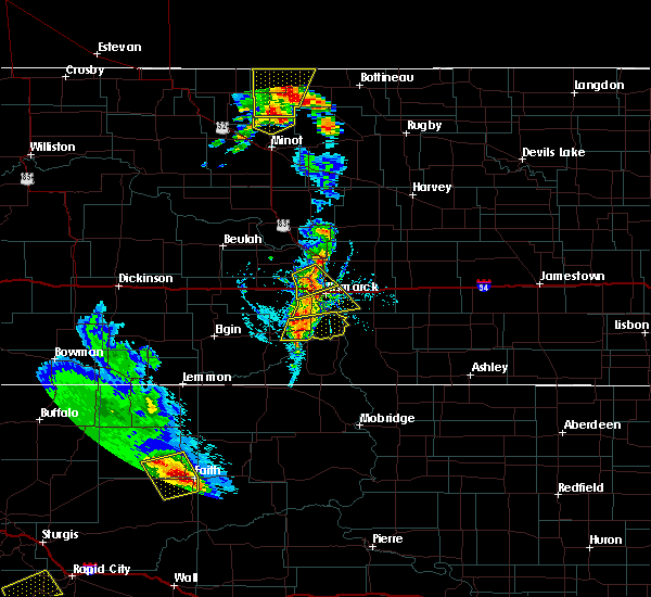 Radar Image for Severe Thunderstorms near Solen, ND at 6/28/2020 8:28 PM CDT