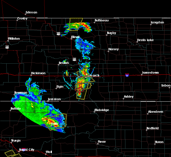 Radar Image for Severe Thunderstorms near Solen, ND at 6/28/2020 8:46 PM CDT