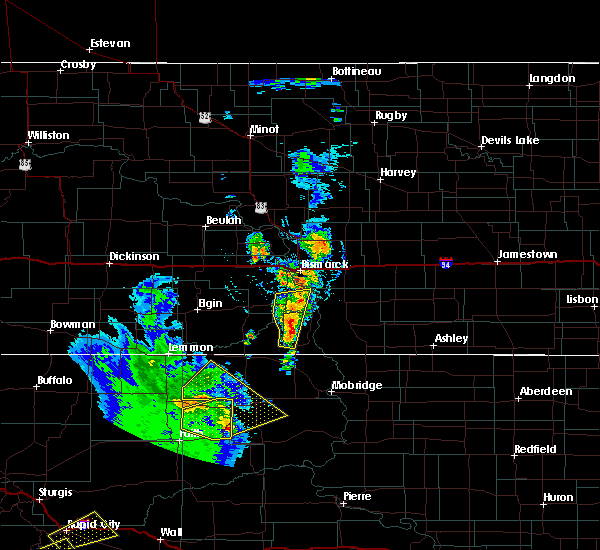 Radar Image for Severe Thunderstorms near Solen, ND at 6/28/2020 9:19 PM CDT