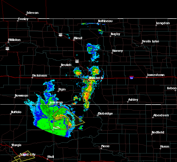 Radar Image for Severe Thunderstorms near Solen, ND at 6/28/2020 9:29 PM CDT