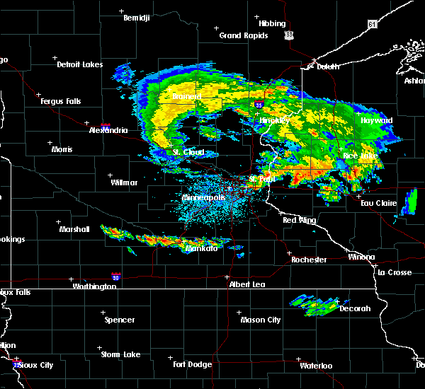 Radar Image for Severe Thunderstorms near Nicollet, MN at 6/28/2020 10:55 PM CDT