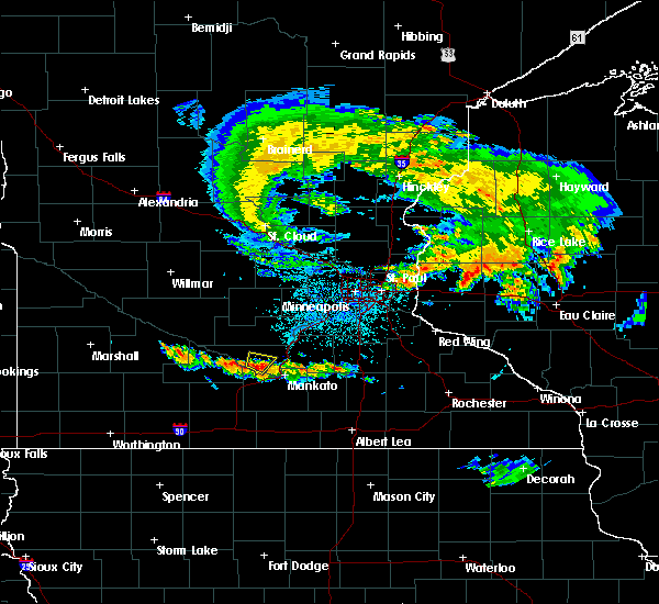Radar Image for Severe Thunderstorms near Nicollet, MN at 6/28/2020 11:03 PM CDT