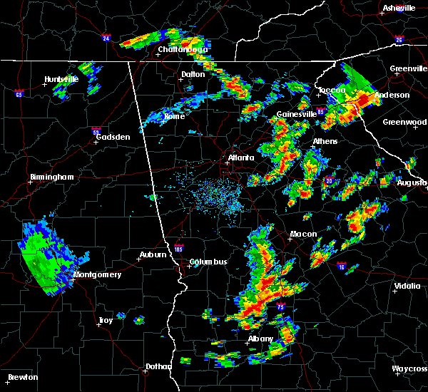 Radar Image for Severe Thunderstorms near Social Circle, GA at 6/30/2015 1:41 PM EDT