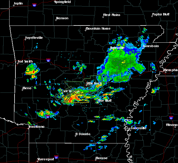 Radar Image for Severe Thunderstorms near Midway, AR at 6/29/2020 3:45 PM CDT