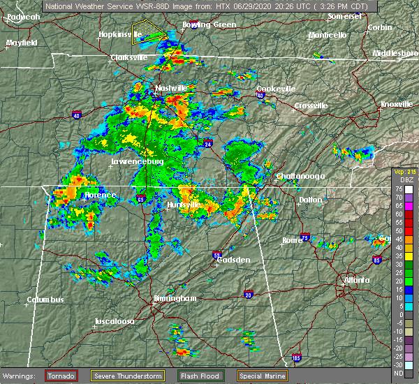 Radar Image for Severe Thunderstorms near Menlo, GA at 6/29/2020 5:02 PM EDT