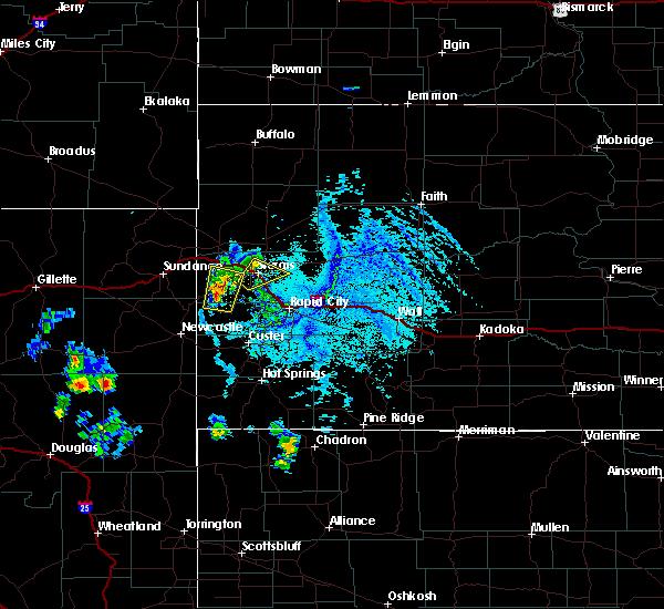 Radar Image for Severe Thunderstorms near Deadwood, SD at 6/29/2020 5:16 PM MDT