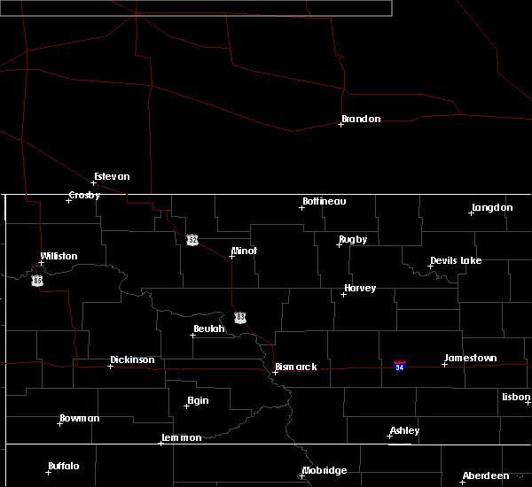 Radar Image for Severe Thunderstorms near Alexander, ND at 6/29/2020 5:48 PM MDT