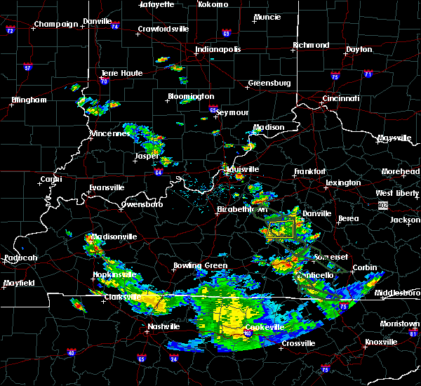 Radar Image for Severe Thunderstorms near Campbellsville, KY at 6/29/2020 7:59 PM EDT