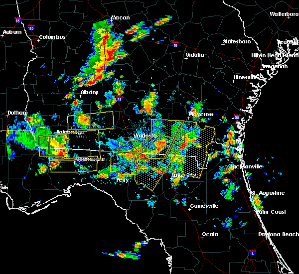 Radar Image for Severe Thunderstorms near Jennings, FL at 6/30/2015 2:04 PM EDT