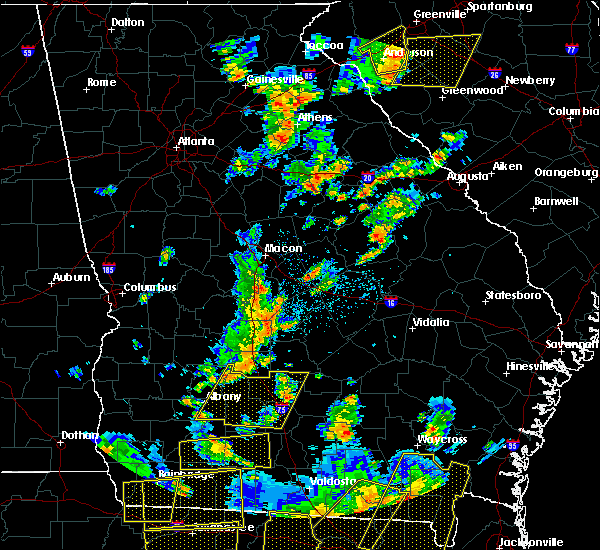 Radar Image for Severe Thunderstorms near Sycamore, GA at 6/30/2015 2:11 PM EDT