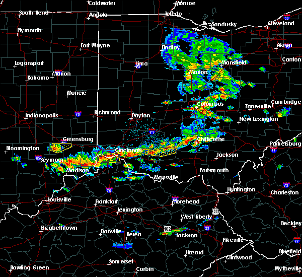 Radar Image for Severe Thunderstorms near Cincinnati, OH at 6/30/2015 2:11 PM EDT