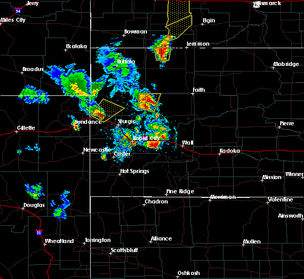 Radar Image for Severe Thunderstorms near Blackhawk, SD at 6/29/2020 9:02 PM MDT