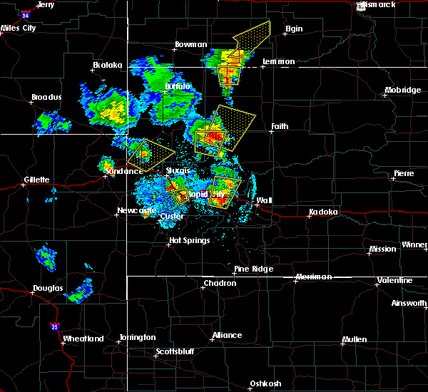 Radar Image for Severe Thunderstorms near Piedmont, SD at 6/29/2020 9:23 PM MDT