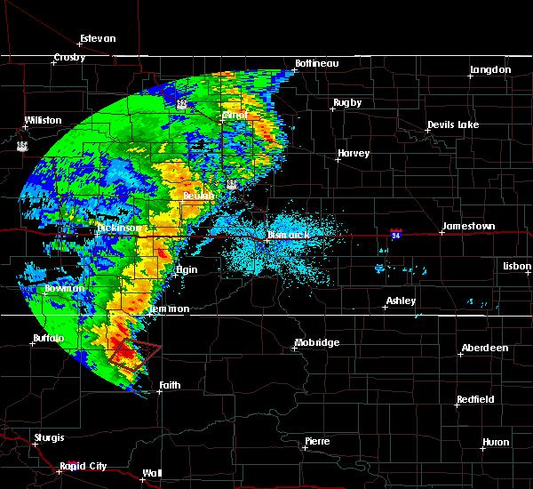 Radar Image for Severe Thunderstorms near Bison, SD at 6/29/2020 10:32 PM MDT