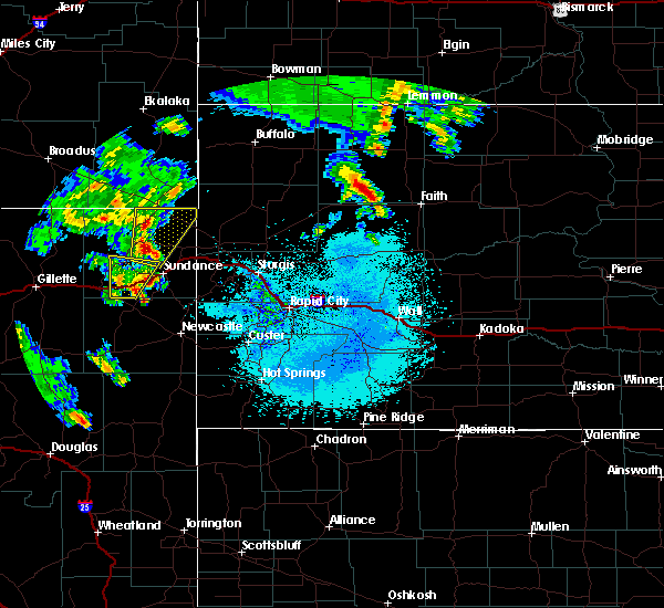 Radar Image for Severe Thunderstorms near Pine Haven, WY at 6/29/2020 11:53 PM MDT