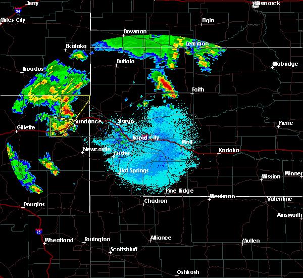Radar Image for Severe Thunderstorms near Bison, SD at 6/30/2020 12:00 AM MDT
