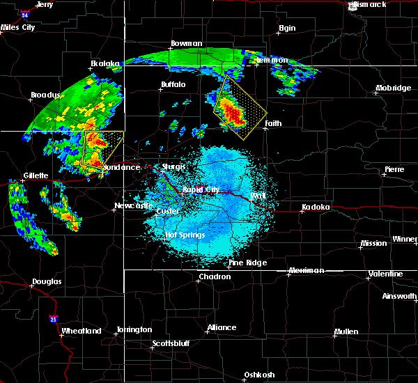 Radar Image for Severe Thunderstorms near Bison, SD at 6/30/2020 12:20 AM MDT