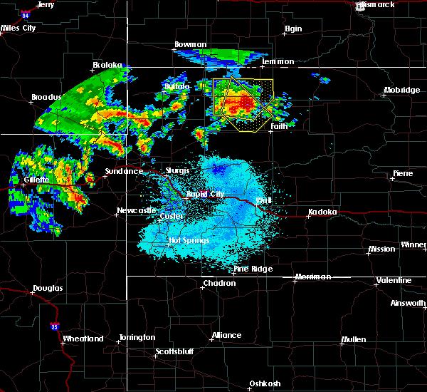 Radar Image for Severe Thunderstorms near Bison, SD at 6/30/2020 12:56 AM MDT