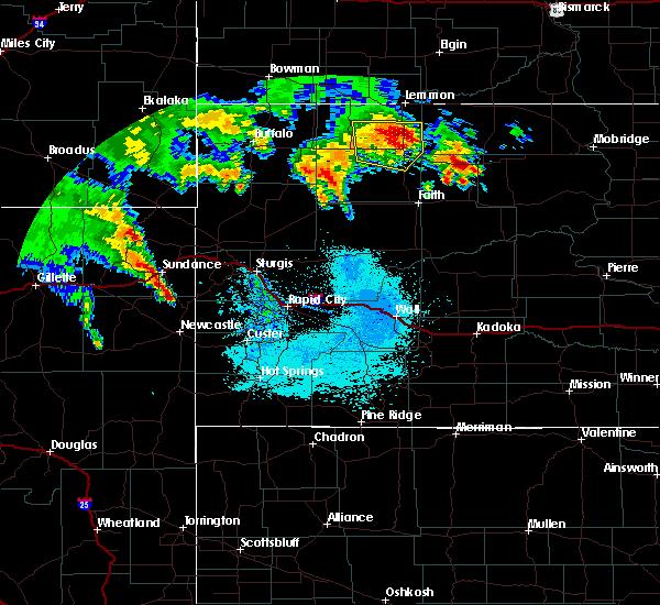 Radar Image for Severe Thunderstorms near Bison, SD at 6/30/2020 1:41 AM MDT