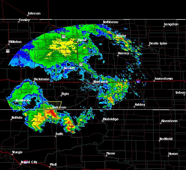 Radar Image for Severe Thunderstorms near Lemmon, SD at 6/30/2020 2:13 AM MDT